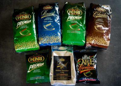 Káva z pražírny HENRI
