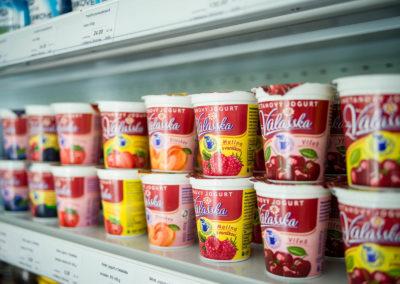 Smetanové jogurty z Valašska
