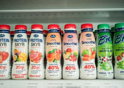 Mléčné produkty OLMA