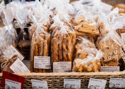 Sušenky a tyčinky